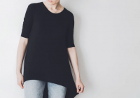 5 Unique Designs of Women's Black Tops for Statement Look